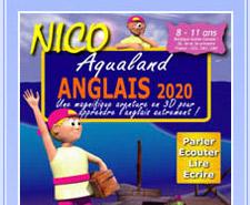 CD-Rom NICO anglais 8-11 ans : Aqualand